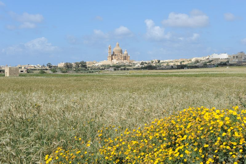 Xewkija Rotunda Church, Gozo, 03.2016