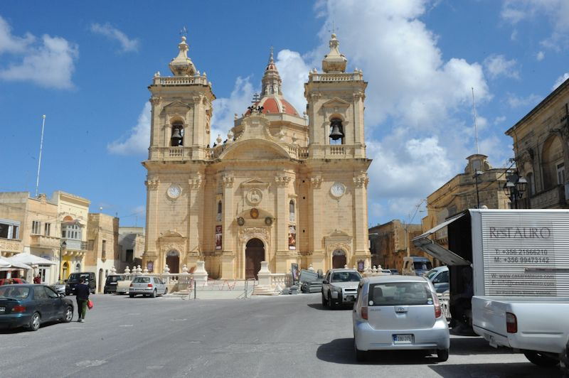 Xaghra Parish Church, Gozo, 03.2016