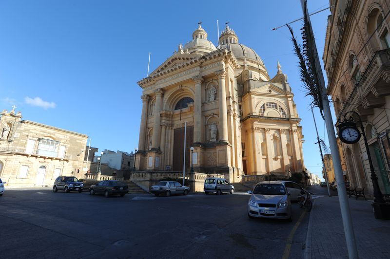 Xewkija Rotunda Church, Victoria, Gozo, 03.2016