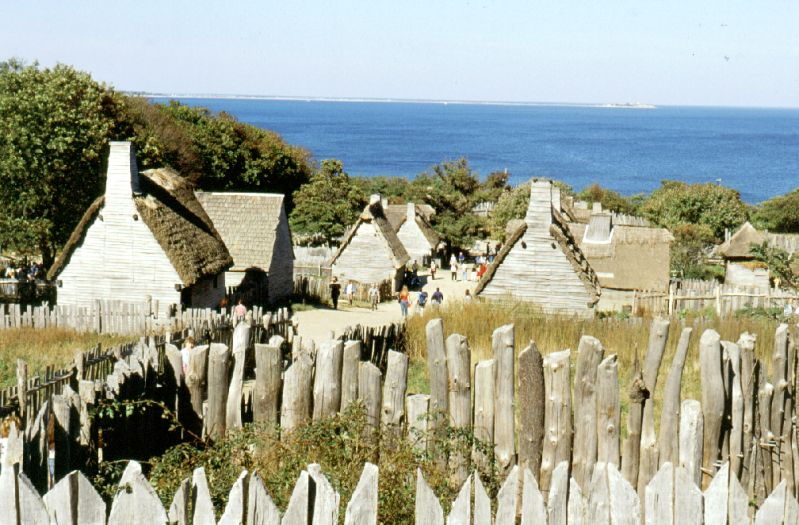 Plimoth Plantation, Massachusetts, 10/2001