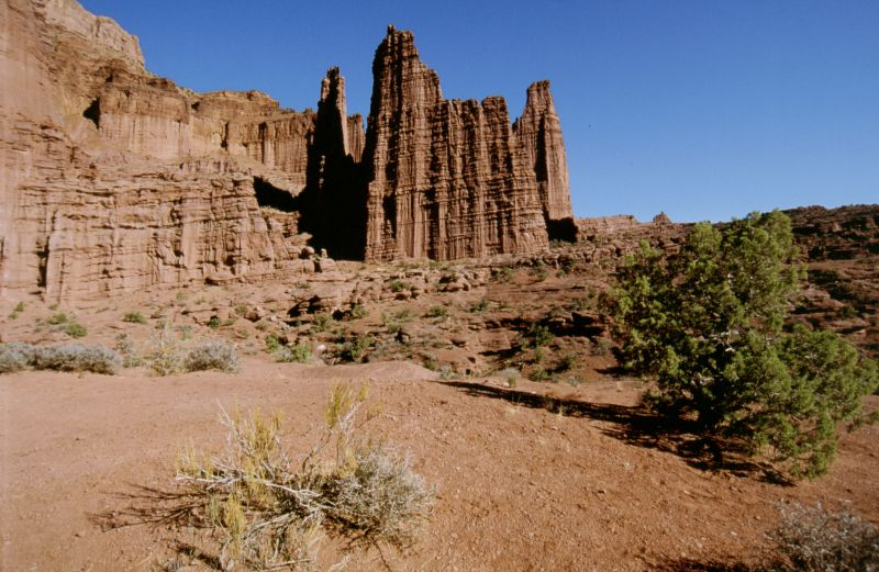 Fisher Towers (Moab), 10/2003