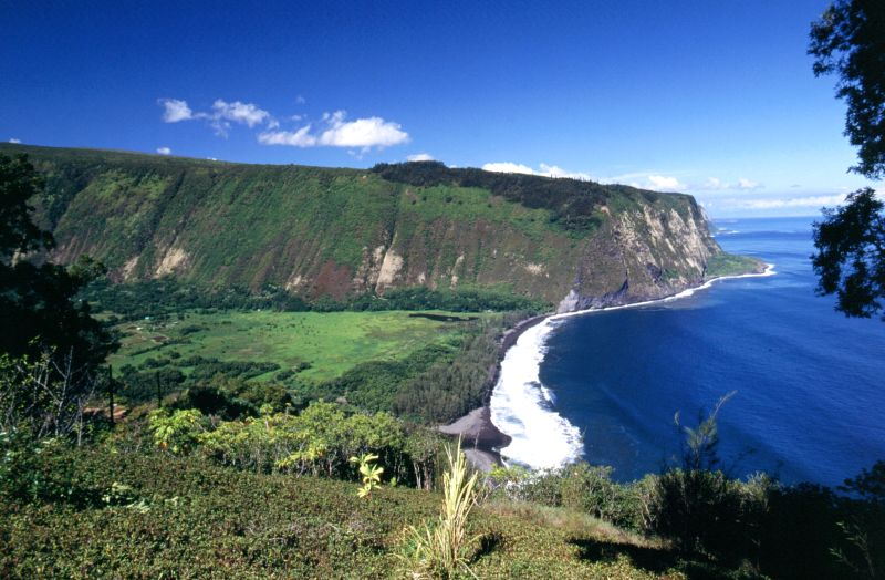 Big Island, Waipio Valley, 10/2004