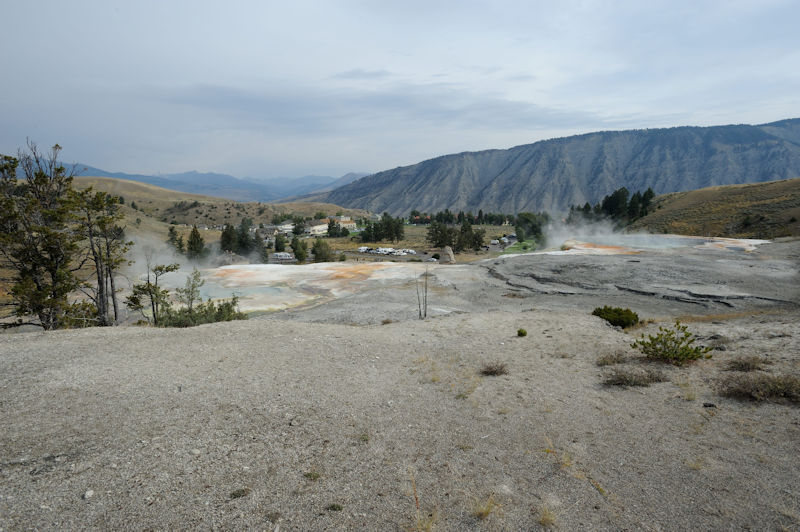 Yellowstone N.P., Mammoth Hot Springs, 09.2017